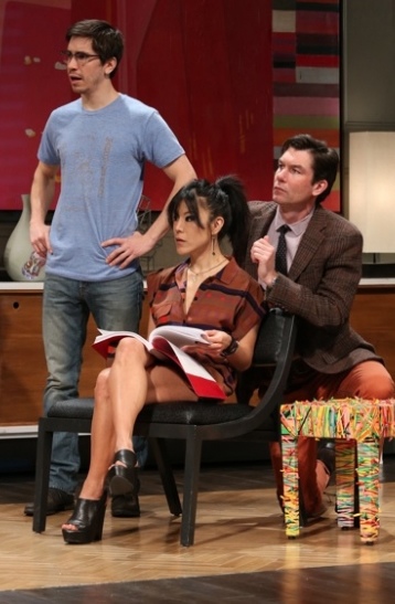Justin Long, Hettienne Park, and Jerry O'Connell